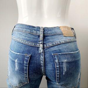 One Teaspoon Awesome Baggies Boyfriend Jeans Sz 25